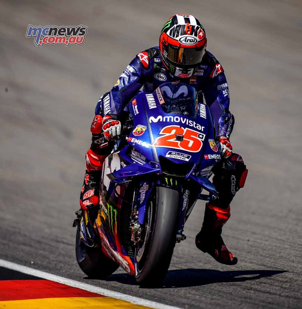 MotoGP Sachsenring QP Vinales