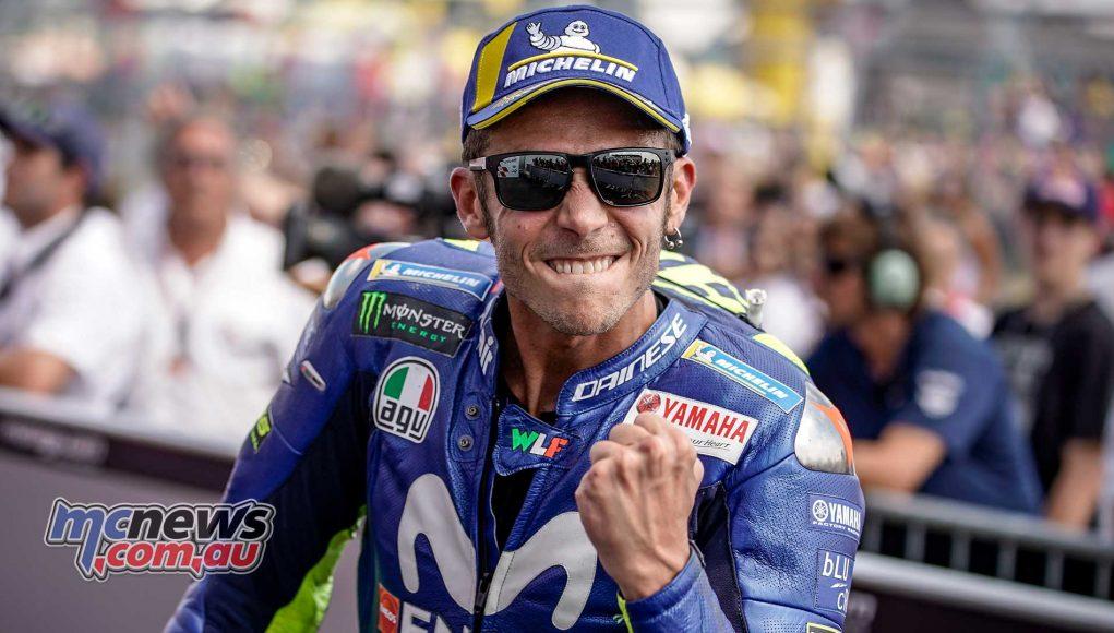 MotoGP Sachsenring Rossi Happy
