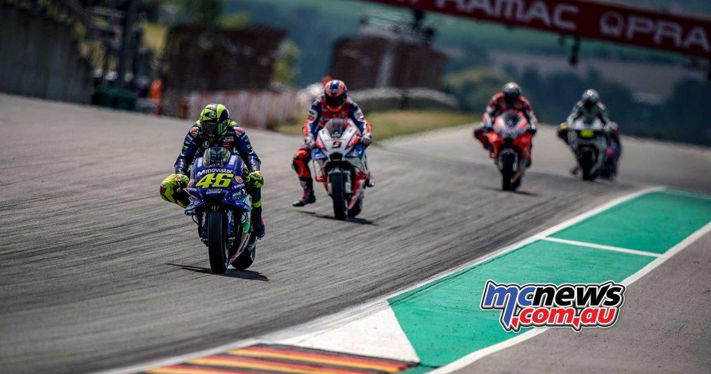MotoGP Sachsenring Rossi Petrucci Dovizioso