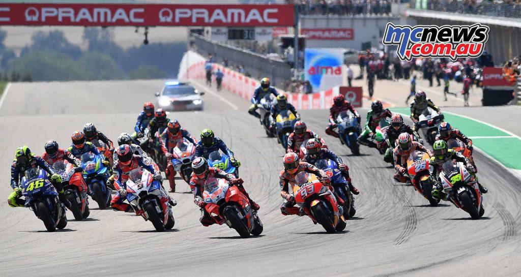 MotoGP Sachsenring Start
