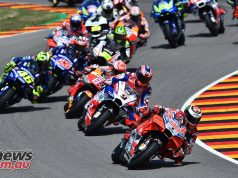MotoGP Sachsenring Start Lorenzo