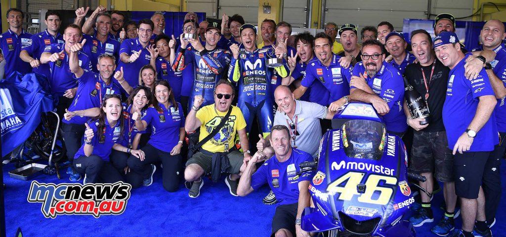 MotoGP Sachsenring Yamaha Rossi Vinales
