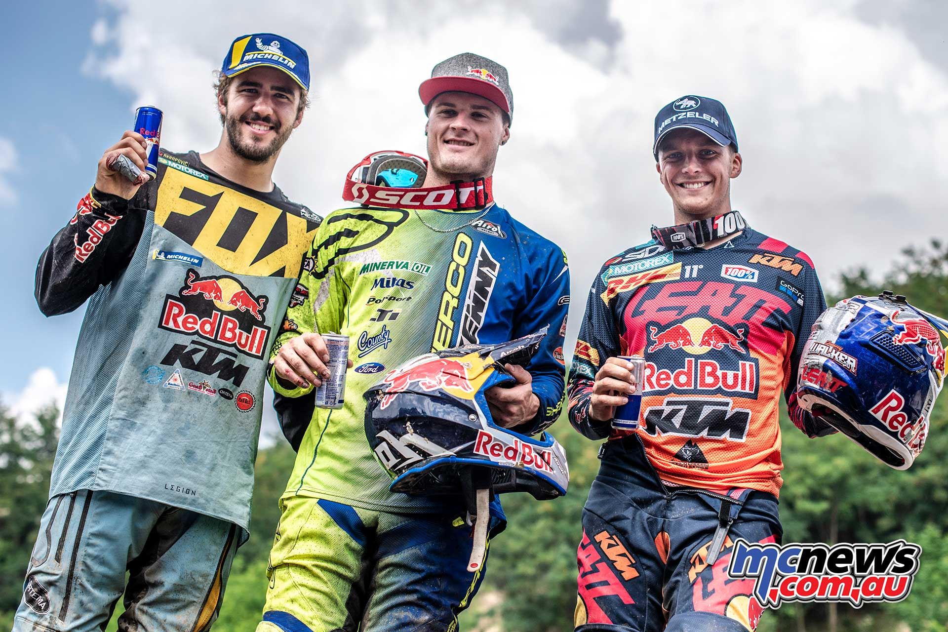 Red Bull Romaniacs Podium Young Lettenbichler Walker