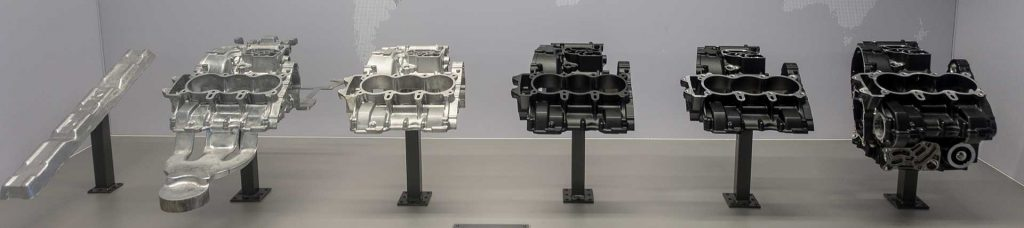 Triumph Factory Experience Engine Casting
