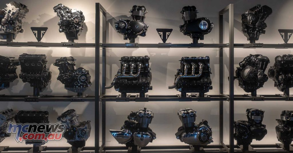Triumph Factory Experience Engines