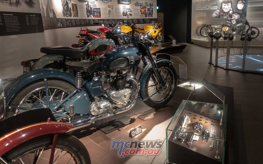 Triumph Factory Experience Exhibits