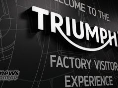 Triumph Factory Experience Sign