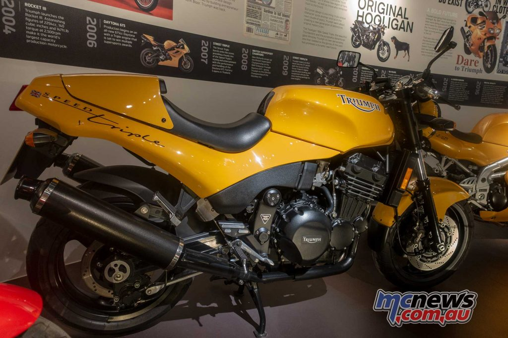 Triumph Factory Experience Speed Triple