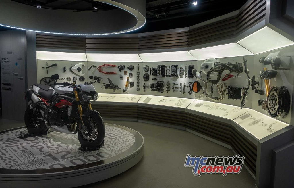 Triumph Factory Experience Speed Triple Components