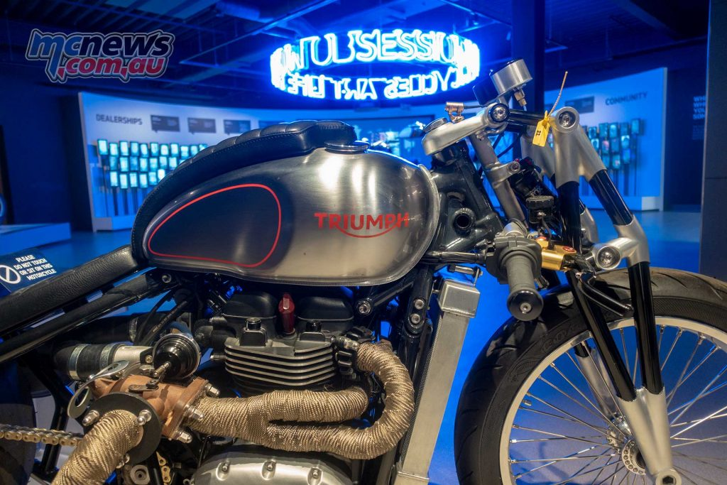 Triumph Factory Experience Turbo Bobber