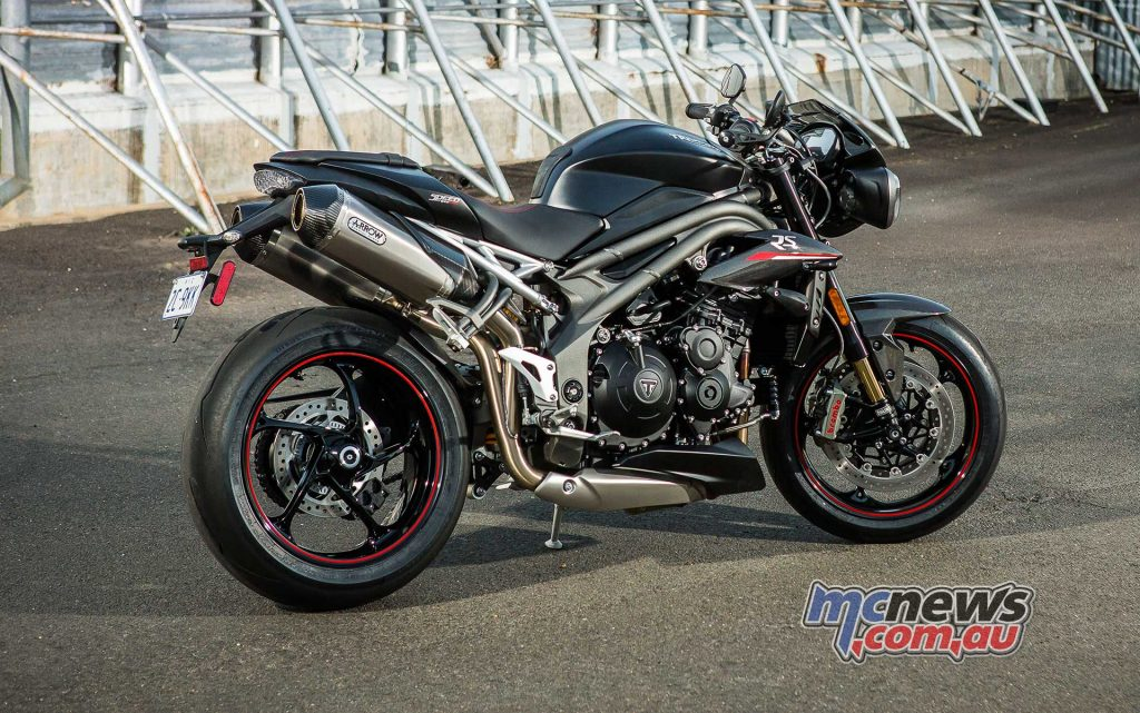 Triumph Speed Triple RS Black