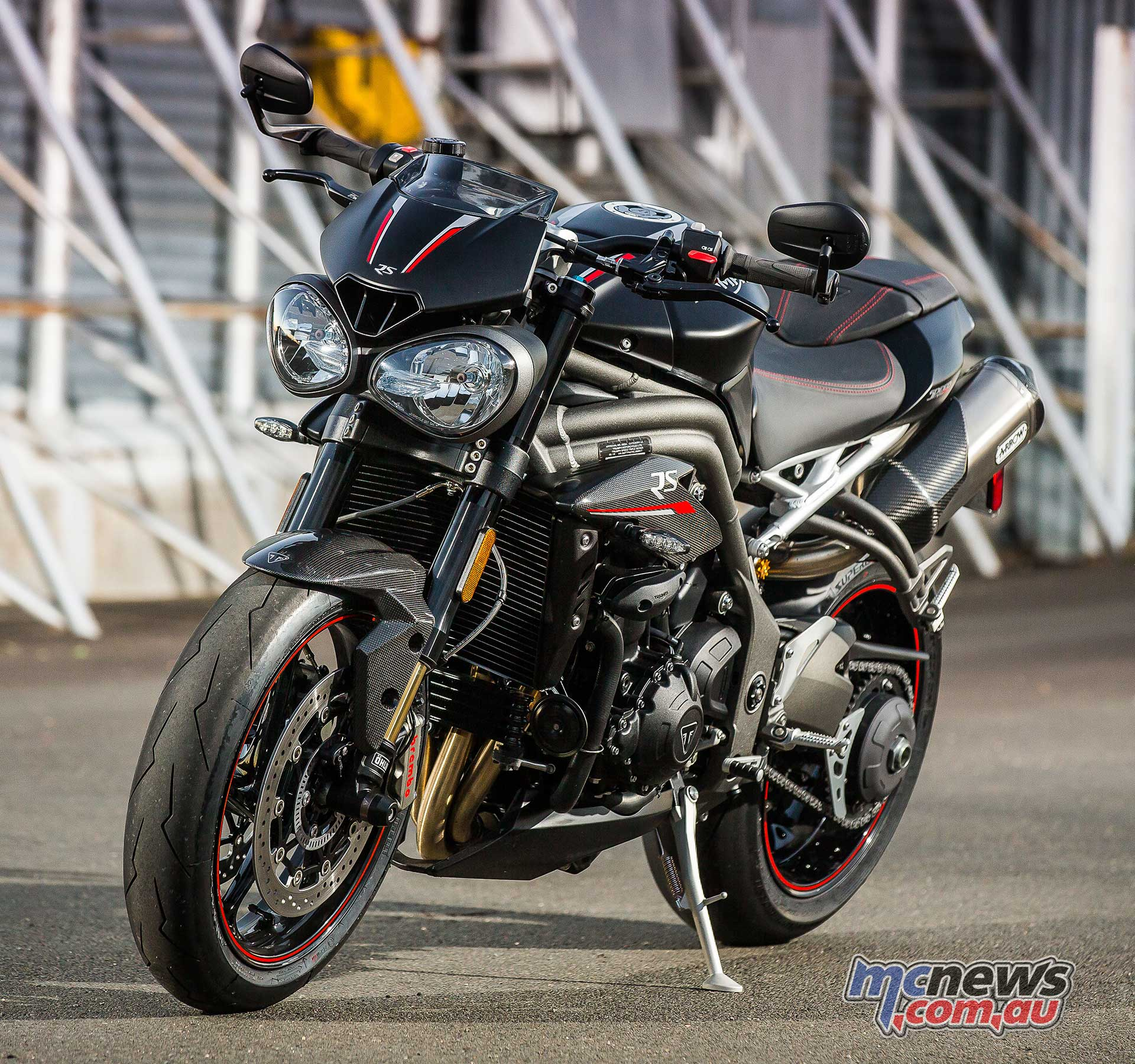Astonishing Triumph Speed Triple Rs Review Motorcycle Tests Mcnews Ibusinesslaw Wood Chair Design Ideas Ibusinesslaworg