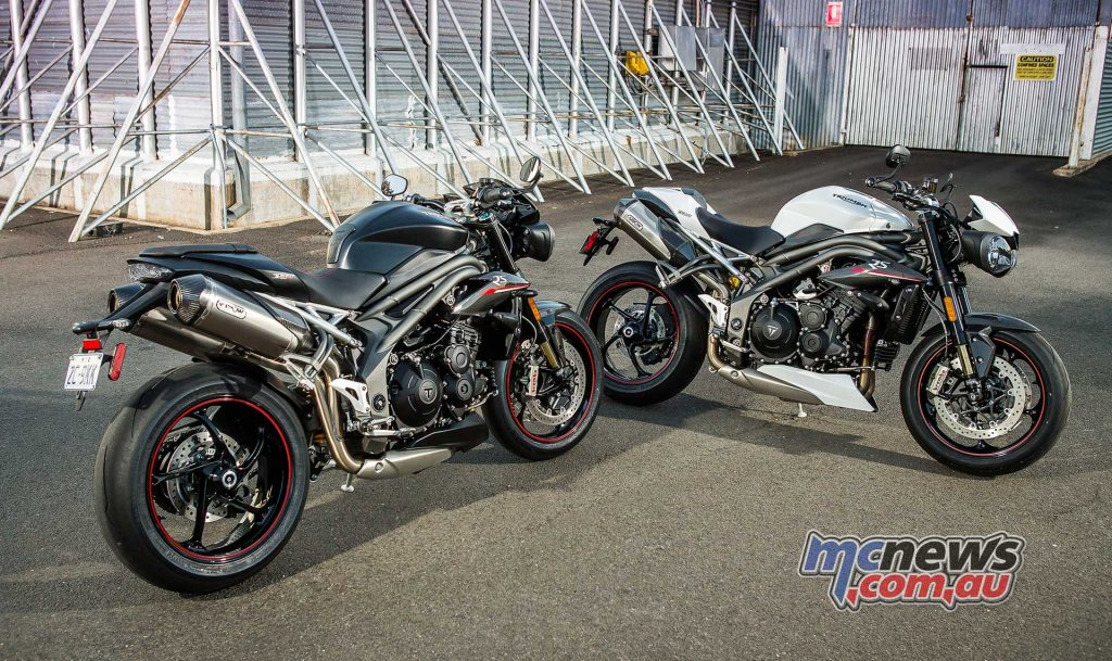 Triumph Speed Triple RS Black White