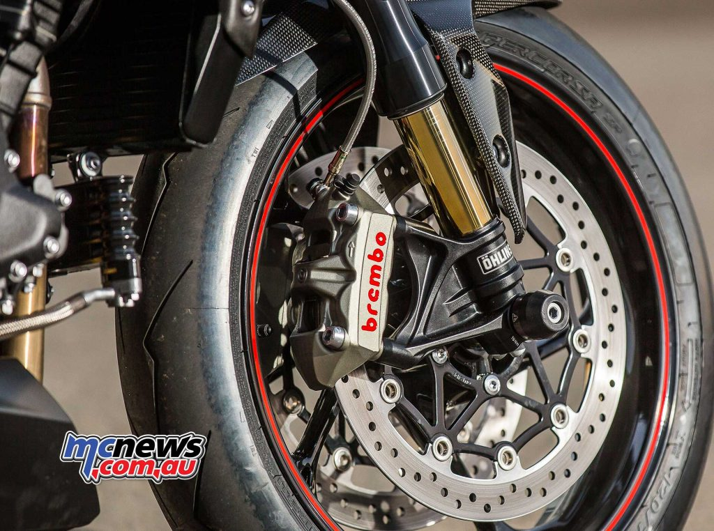 Triumph Speed Triple RS Brembo