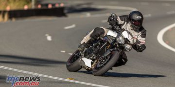 Triumph Speed Triple RS Cover