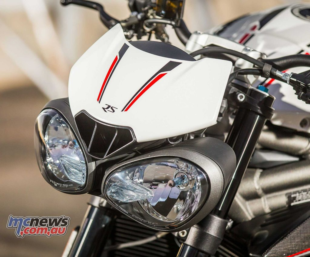 Triumph Speed Triple RS Lights