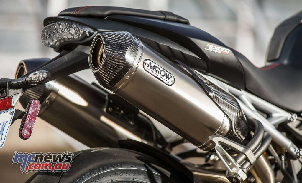 Triumph Speed Triple RS Muffler