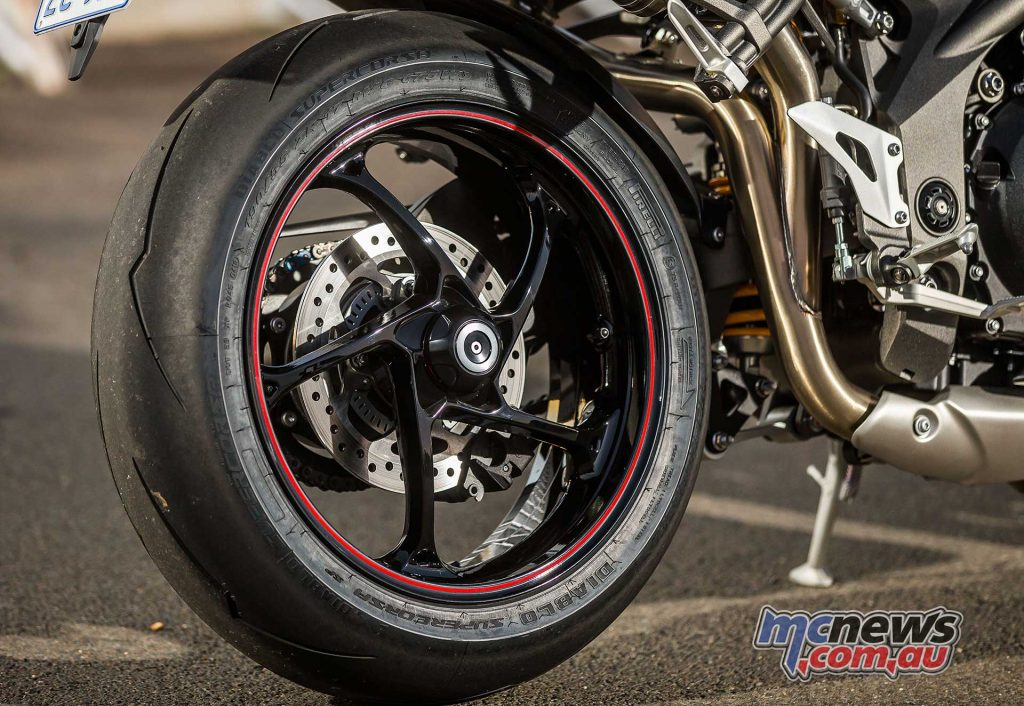 Triumph Speed Triple RS Rim