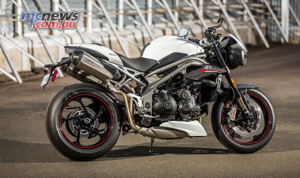 Triumph Speed Triple RS White