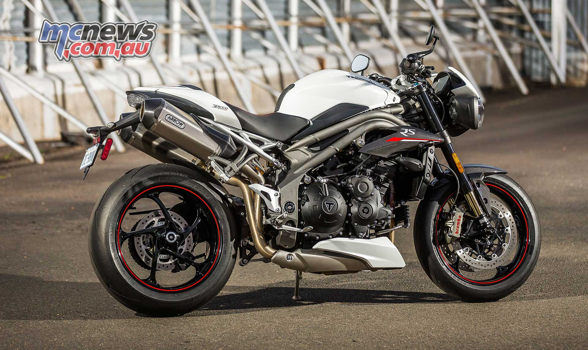 Triumph Speed Triple Rs Review Mcnews