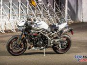 Triumph Speed Triple RS White