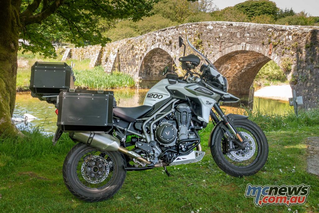 Triumph Tiger XCx WistmansWood Moors