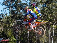 mx nationals ranch mx saturday practice mx evans overtake ImageByScottya