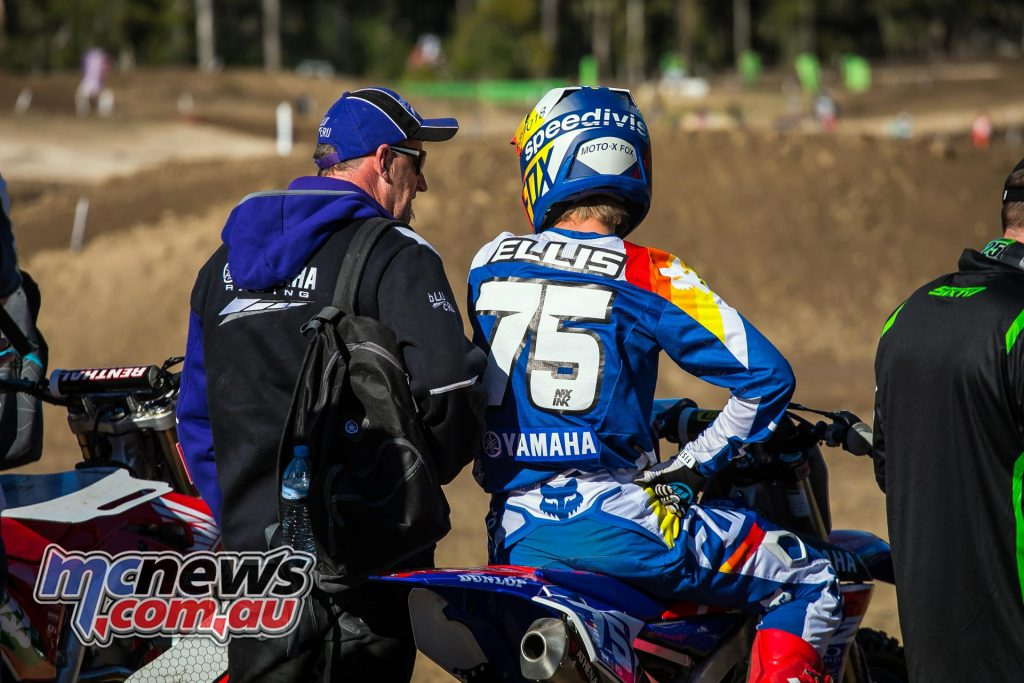 mx nationals ranch mx saturday practice mxd ellis waiting ImageByScottya