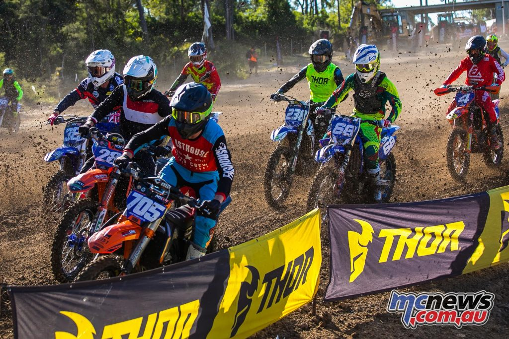 mx nationals round mxd racing start corner ImageByScottya