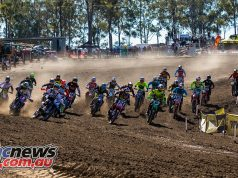 mx nationals round mx start corner
