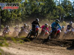 mx nationals round mxd turn one