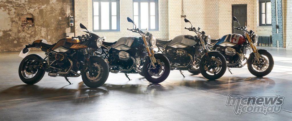 BMW RnineT Spezial Range