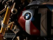 BMW RnineT Spezial Mars Red Metallic Matt Cosmic Blue Metallic