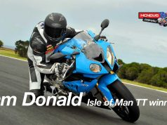 BMW RR Experience Cam Donald