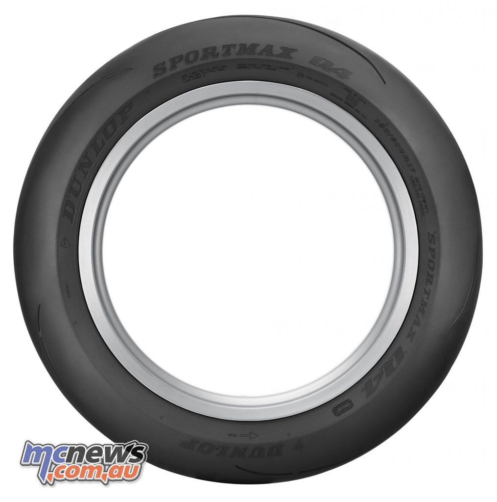 Dunlop Sportmax Q Track Rear Profile
