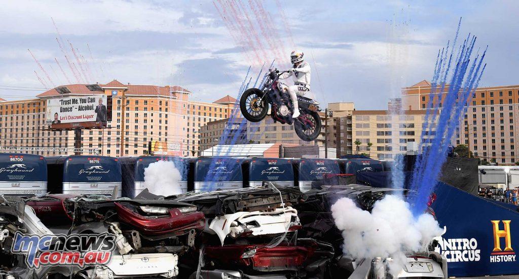 Evel Knievel Pastrana Vegas Cars