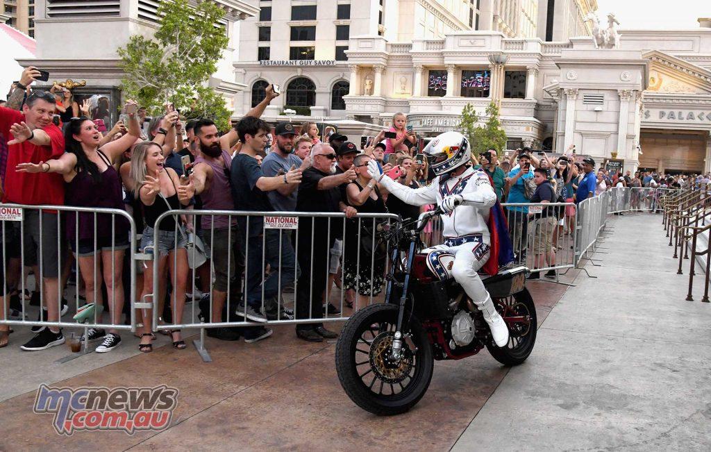 Evel Knievel Pastrana Vegas Crowd