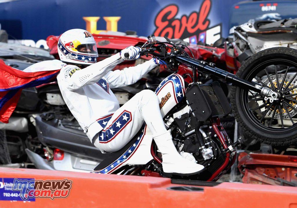 Evel Knievel Pastrana Vegas Mono