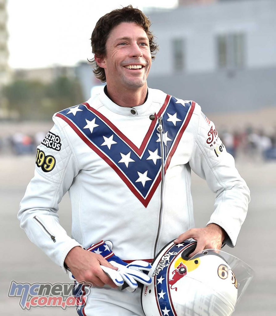 Evel Knievel Pastrana Vegas Suit