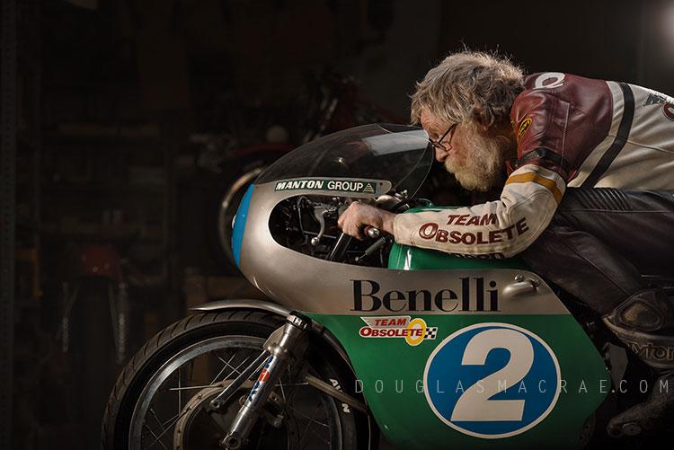 IoM Classic TT Preview Ex Renzo Pasolini Benelli