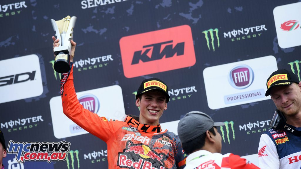 MXGP Indonesia MX Prado podium