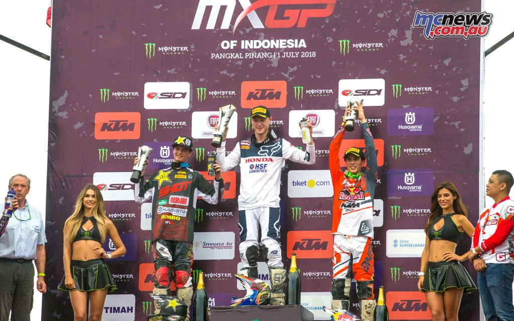 MXGP Rnd Indonesia MX Podium RA
