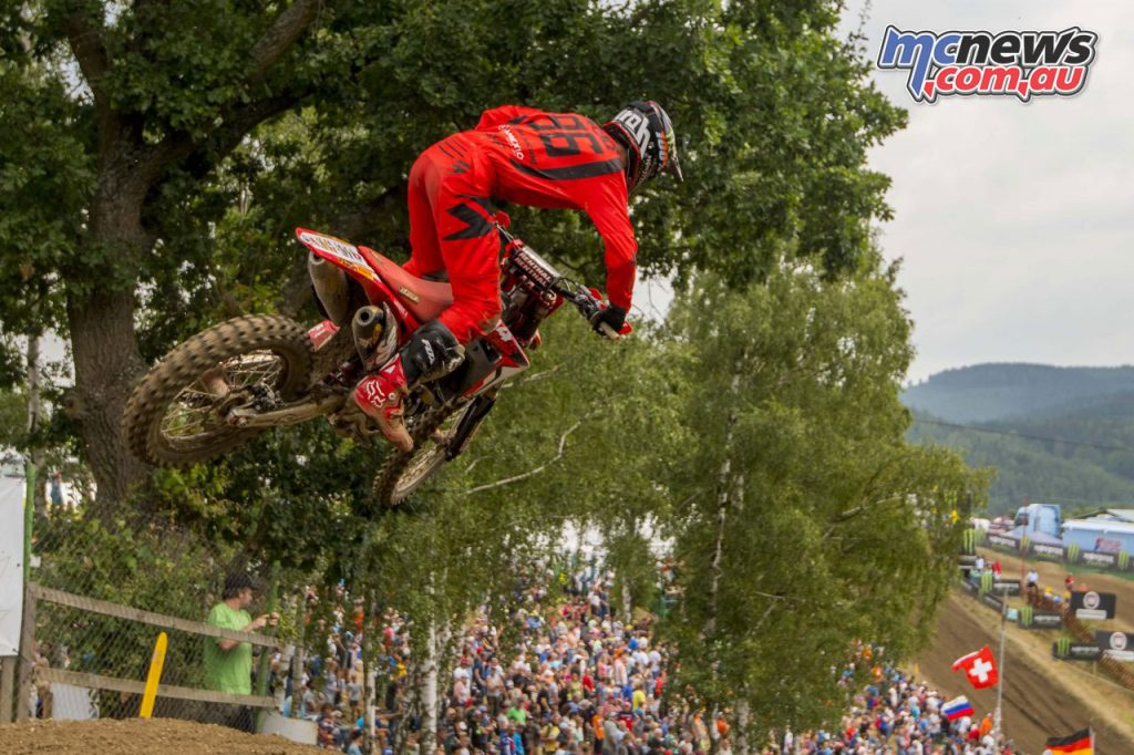 MXGP Rnd Czech Hunter Lawrence