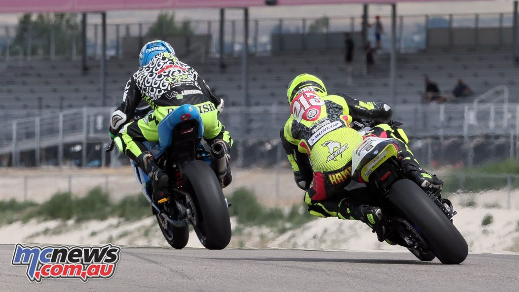 MotoAmerica Rnd Utah Parrish Saturday