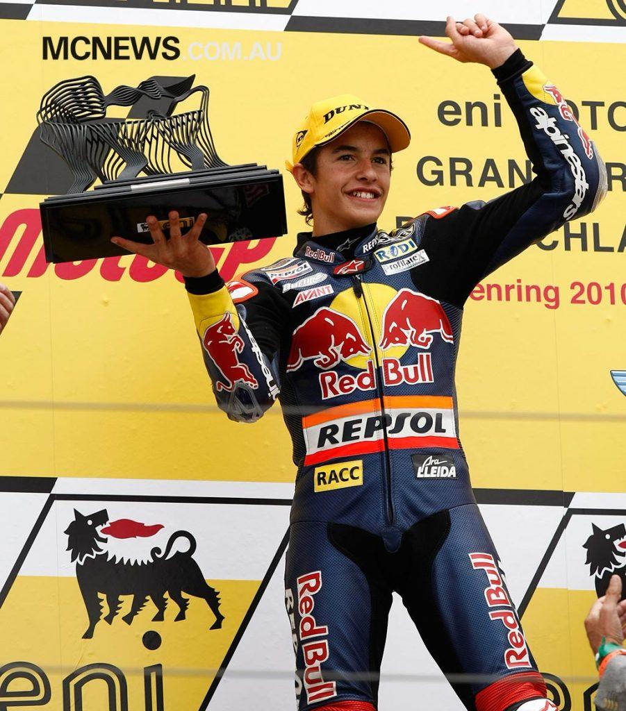 MotoGP cc Podium Marquez