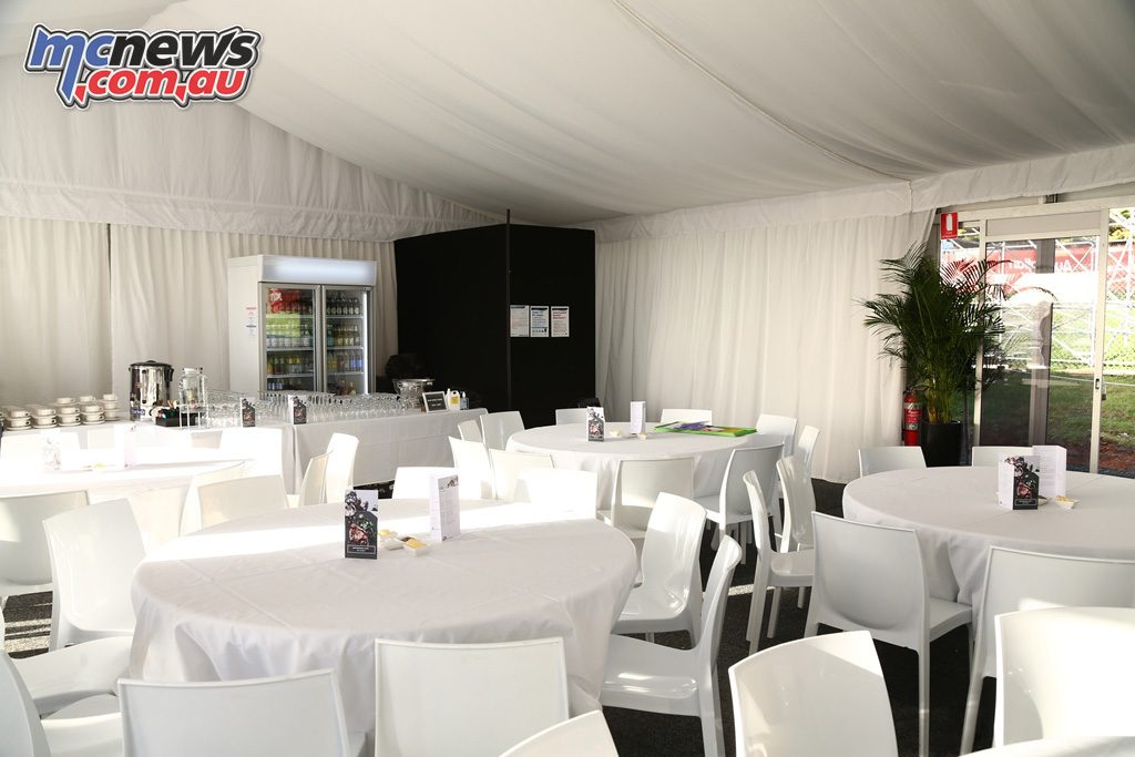 MotoHeaven Phillip Island MotoGP Hospitality Package P