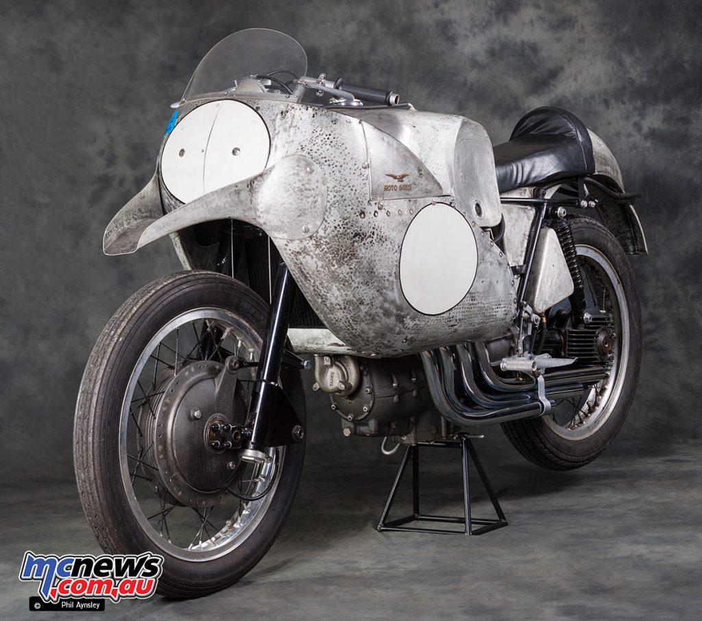 PA Moto Guzzi four cylinder racer