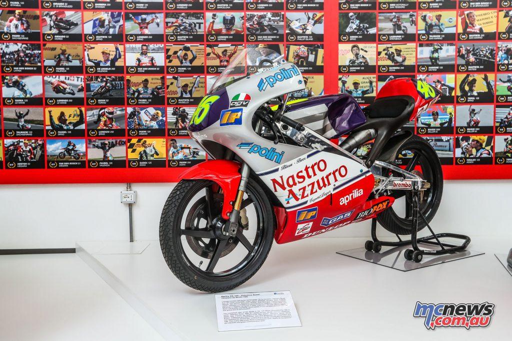 Piaggio Museum Aprilia Valentino Rossi