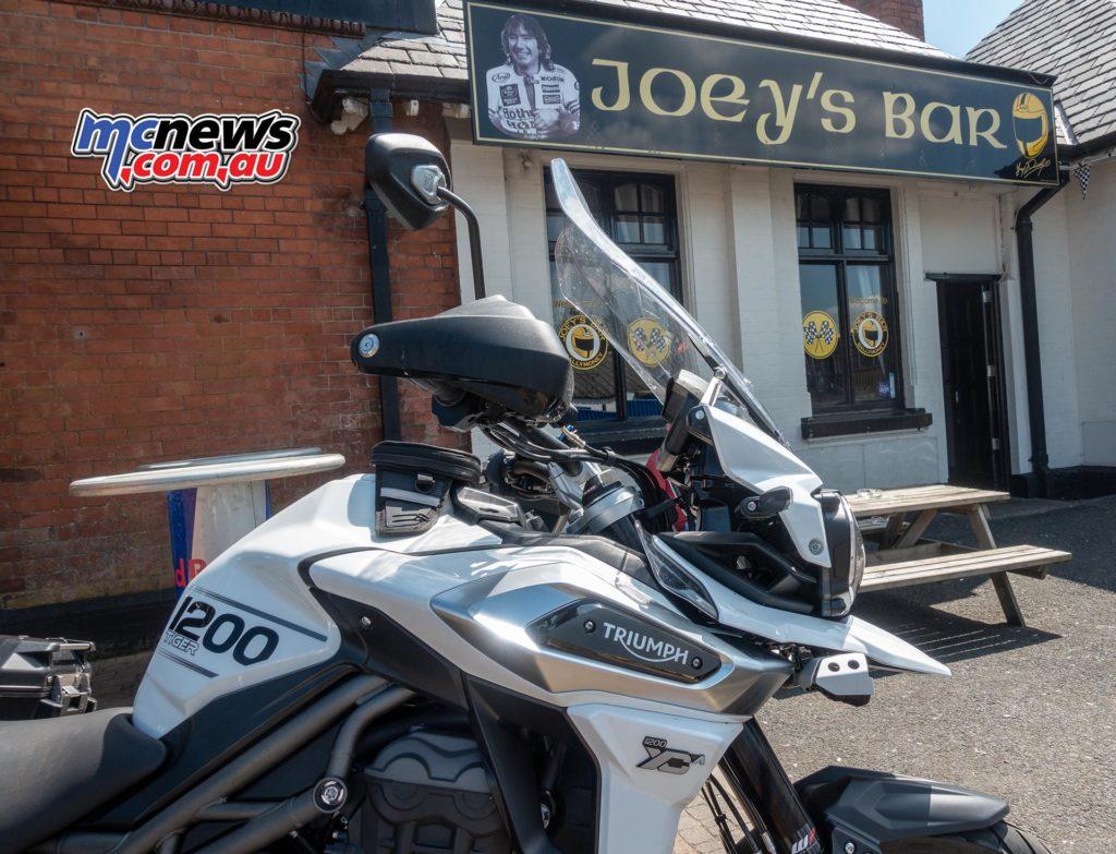 Triumph Explorer Joeys Bar