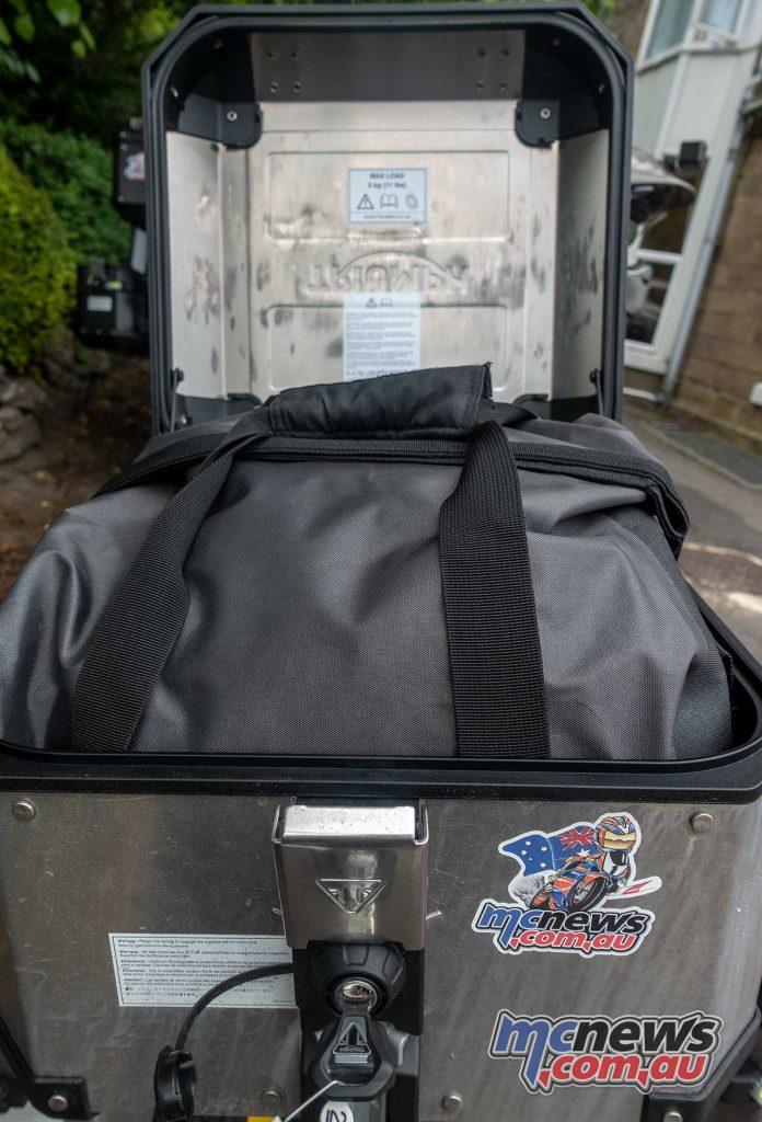 Triumph Tiger Luggage